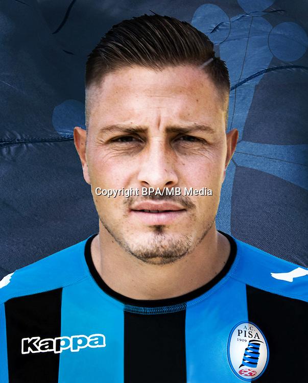 Italian League Serie B -2016-2017 / <br /> ( A.C. Pisa 1909 ) - <br /> Umberto Eusepi