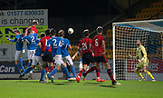 06/10/2017 - St Johnstone v Dundee - Dave Mackay testimonial at McDiarmid Park, Perth, Picture by David Young - Dundee's Mark O'Hara scores his side's first goal