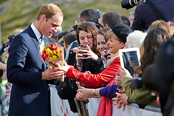 © Licensed to London News Pictures.  19/03/2013. SAUNDERTON, UK. The Duke and Duchess of Cambridge, William (pictured) and Kate (not pictured) arrive at the Clare Centre in Saunderton to visit the offices of charity Child Bereavement UK. Photo credit :  Cliff Hide/LNP