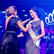 NLD/Hilversum/20171009 - Finale Miss Nederland 2017, winnares Nicky Opheij