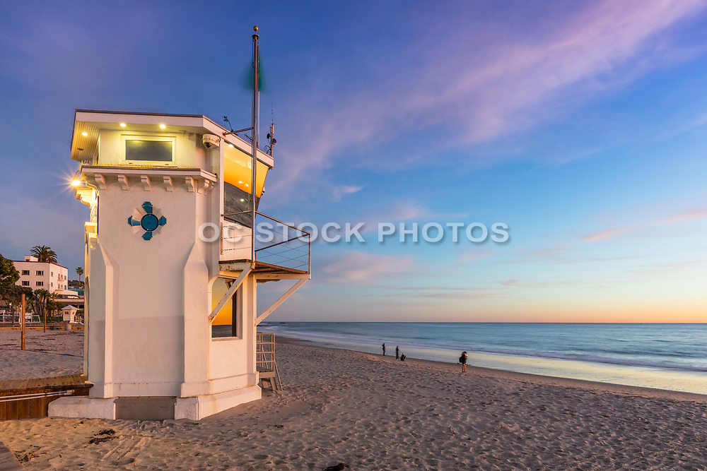 Winter Day at Main Beach in Laguna Beach California
