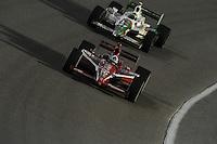 Dario Franchitti, Tony Kanaan, Cafes do Brasil Indy 300, Homestead Miami Speedway, Homestead, FL USA,10/2/2010