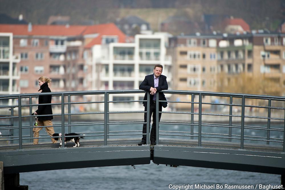 Thomas Kastrup-Larsen om om Aalborgs indsats som CO2-neutral kommune. Foto: © Michael Bo Rasmussen / Baghuset. Dato: 28.03.12
