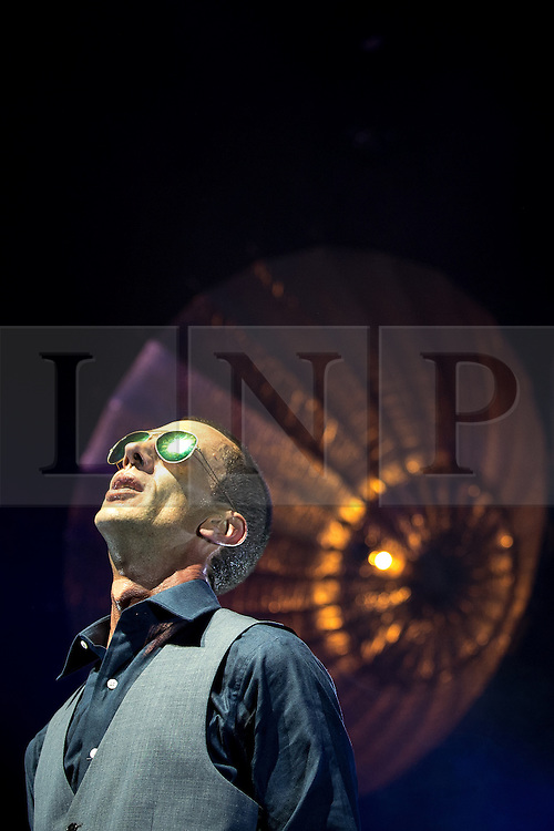 "© Licensed to London News Pictures . 14/05/2016 . Manchester , UK . RICHARD ASHCROFT performs live at the Albert Hall in Manchester , in the first of two gigs (the other at the Roundhouse in Camden in London ) ahead of the release of his first new album in six years , entitled "" These People "" . Photo credit : Joel Goodman/LNP"