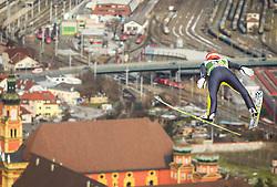 03.01.2013, Bergisel Schanze, Innsbruck, AUT, FIS Ski Sprung Weltcup, 61. Vierschanzentournee, Training, im Bild Richard Freitag (GER) // Richard Freitag of Germany during practice Jump of 61th Four Hills Tournament of FIS Ski Jumping World Cup at the Bergisel Schanze, Innsbruck, Austria on 2013/01/03. EXPA Pictures © 2012, PhotoCredit: EXPA/ Juergen Feichter