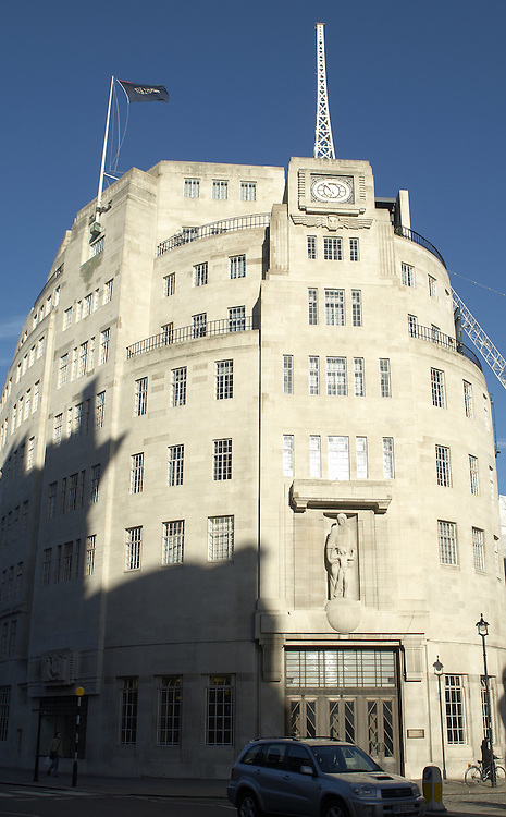 Broadcasting House, BBC Corporate Headquarters, London