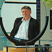 Michael Palin at the museum to publicise his TV programme Himalaya, January 2005.