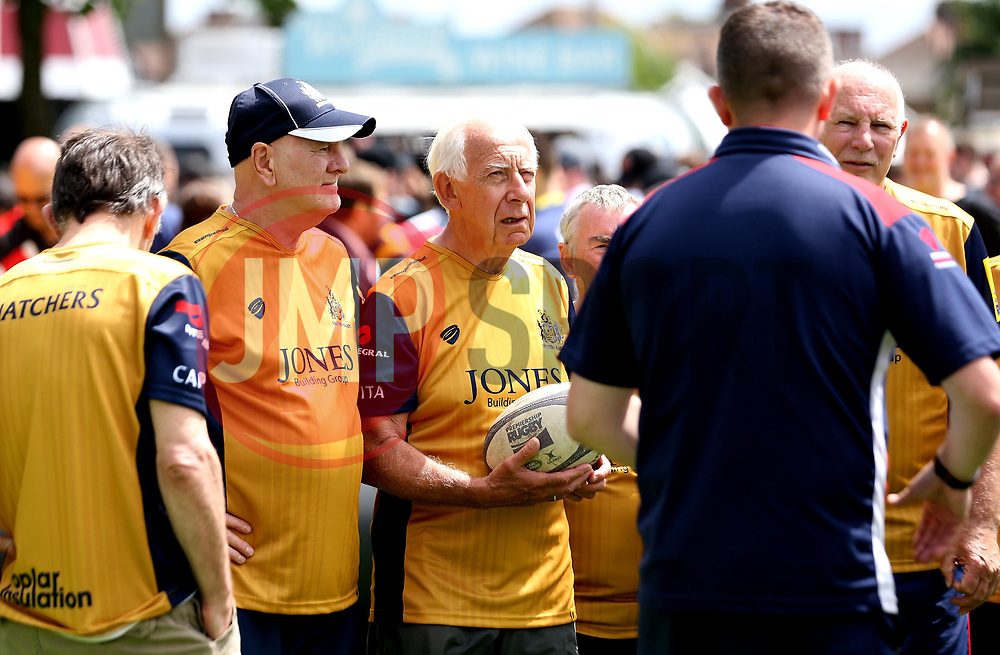 Bristol Rugby Foundation give a demonstration of walking rugby at Twickenham ahead of the Premiership Final - Mandatory by-line: Robbie Stephenson/JMP - 27/05/2017 - RUGBY - Twickenham - London, England - Wasps v Exeter Chiefs - Aviva Premiership Rugby Final