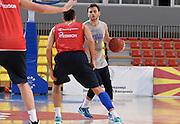 DESCRIZIONE : Skopje torneo internazionale - Allenamento<br /> GIOCATORE : Stefano Gentile<br /> CATEGORIA : nazionale maschile senior A <br /> GARA : Skopje torneo internazionale - Allenamento <br /> DATA : 24/07/2014 <br /> AUTORE : Agenzia Ciamillo-Castoria