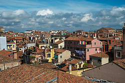 Rooftops in San Marco, Venice, Italy.<br /> Photo: Ed Maynard<br /> 07976 239803<br /> www.edmaynard.com