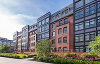 Arlington VA Architectural image of Gaslight Square Condominiums by Jeffrey Sauers of Commercial Photographics, Architectural Photo Artistry in Washington DC, Virginia to Florida and PA to New England