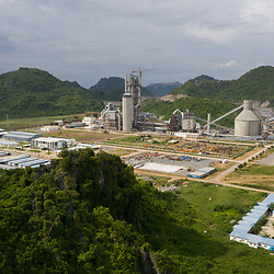 Kampot Cement production