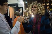 DESIREE MEJER , PAD COLLECTORS PREVIEW NIGHT - BERKELEY SQ. LONDON, MONDAY 3 OCTOBER
