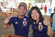 Japan fans - Women's World Cup Fans as the tournament comes to Vancouver<br /> <br />  - &copy; David Young - www.davidyoungphoto.co.uk - email: davidyoungphoto@gmail.com