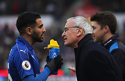 Leicester City manager Claudio Ranieri (R) - Mandatory by-line: Jack Phillips/JMP - 17/12/2016 - FOOTBALL - Bet365 Stadium - Stoke-on-Trent, England - Stoke City v Leicester City - Premier League