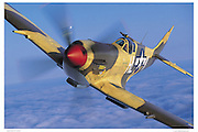 Spitfire MKXVI, aerial close up