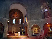 Dormition Abbey, a massive Benedictine basilica, is located at the place where Virgin Mary had fallen asleep for the last time. In the basement of the Abby there is a statue of the sleeping Holy Mother.