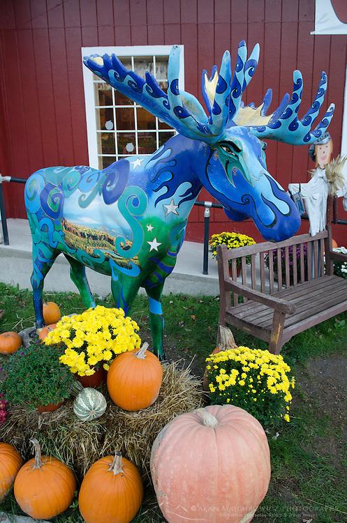 Painted Moose Bennington Vermont