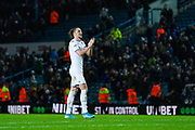 Leeds United defender Luke Ayling (2) reacts during the EFL Sky Bet Championship match between Leeds United and Hull City at Elland Road, Leeds, England on 10 December 2019.