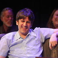 John Staton listens to jokes about himself Sunday March 8, 2015 during A Roast of John Staton, a benefit for Susan Auten at TheatreNOW in Wilmington, N.C. (Jason A. Frizzelle)