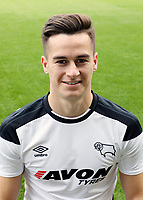 Derby County Photo Call.  Tom Lawrence