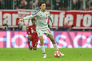 Liverpool defender Trent Alexander-Arnold (66) during the Champions League match between Bayern Munich and Liverpool at the Allianz Arena, Munich, Germany, on 13 March 2019.