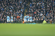during the The FA Cup 3rd round match between Manchester City and Rotherham United at the Etihad Stadium, Manchester, England on 6 January 2019.