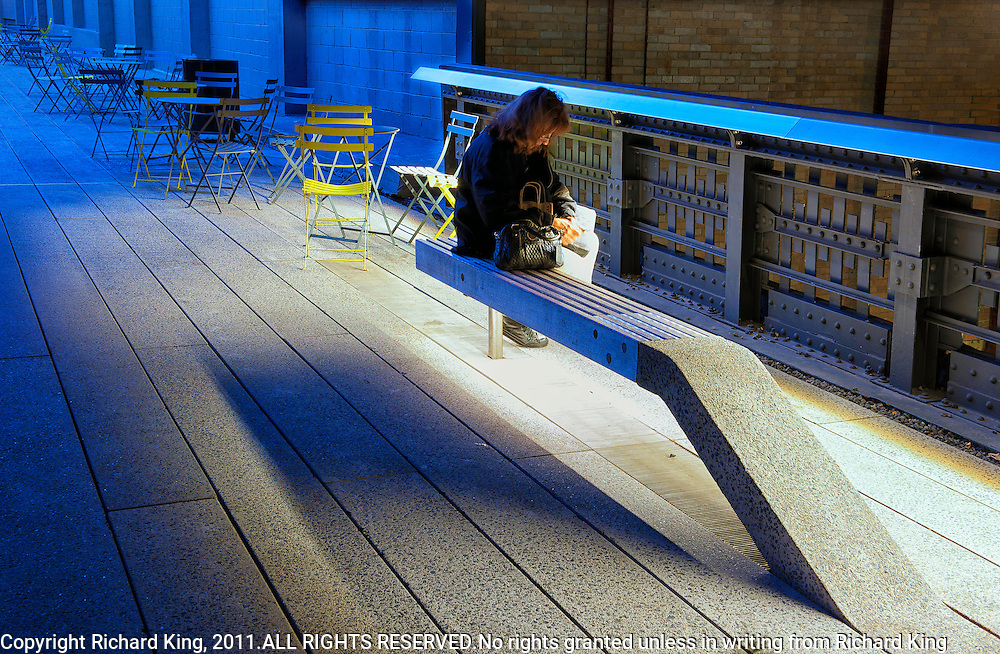"""The High Line"" Night shoot Manhattan"