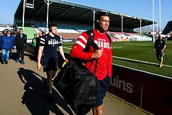 Siale Piutau of Bristol Bears arrives at Harlequins - Mandatory by-line: Robbie Stephenson/JMP - 23/02/2019 - RUGBY - Twickenham Stoop - London, England - Harlequins v Bristol Bears - Gallagher Premiership Rugby