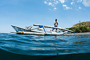 Fishing boat<br /> West Nusa Tenggara <br /> Lesser Sunda Islands<br /> Indonesia