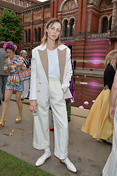EDIE CAMPBELL at the V&A Summer Party in association with Harrod's held at The V&A Museum, London on 22nd June 2016.