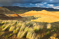 Sunset on the Painted Hill Unit of John Day Fossil Beds National Monument Oregon