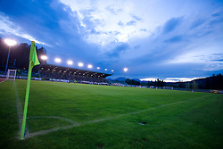 Stadium Velenje at 1st Round of Europe League football match between NK Rudar Velenje (Slovenia) and Trans Narva (Estonia), on July 9 2009, in Velenje, Slovenia. Rudar won 3:1 and qualified to 2nd Round. (Photo by Vid Ponikvar / Sportida)