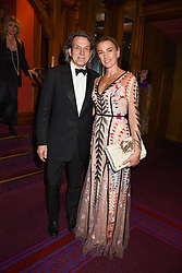 26 January 2020 - Stephen Webster and Assia Webster at the Ballet Icons Gala at the London Coliseum, St.Martin's Lane, London.<br /> <br /> Photo by Dominic O'Neill/Desmond O'Neill Features Ltd.  +44(0)1306 731608  www.donfeatures.com