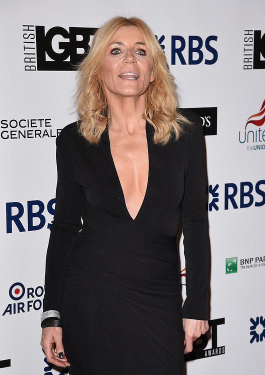 Michelle Collins attends The British LGBT Awards at The Landmark Hotel, London on Friday 24 April 2015