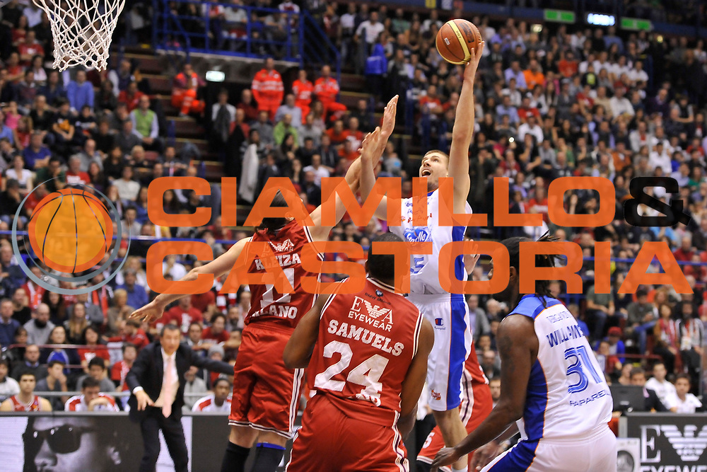 DESCRIZIONE : Campionato 2014/15 Olimpia EA7 Emporio Armani Milano - Acqua Vitasnella Cantu'<br /> GIOCATORE : Ivan Buva<br /> CATEGORIA : Tiro Penetrazione<br /> SQUADRA : Acqua Vitasnella Cantu'<br /> EVENTO : LegaBasket Serie A Beko 2014/2015<br /> GARA : Olimpia EA7 Emporio Armani Milano - Acqua Vitasnella Cantu'<br /> DATA : 16/11/2014<br /> SPORT : Pallacanestro <br /> AUTORE : Agenzia Ciamillo-Castoria / Luigi Canu<br /> Galleria : LegaBasket Serie A Beko 2014/2015<br /> Fotonotizia : Campionato 2014/15 Olimpia EA7 Emporio Armani Milano - Acqua Vitasnella Cantu'<br /> Predefinita :