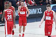 Delusione Armani Milano, AX ARMANI EXCHANGE OLIMPIA MILANO vs CSKA MOSCA, EuroLeague 2017/2018, Mediolanum Forum Assago Milano 11 gennaio 2018 - foto BERTANI/Ciamillo