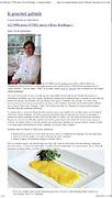 """Le chef invité Olivier Rollinger et ses plats lors de la soirée bénéfices  """" Les Grands Chefs Relais et Chateaux """" qui a permis de recueillir 432 000$ au profit de la fondation l'institut Touristique et hotelier du Quebec ITHQ.  Photographies de Marc Gibert publiées . Marc Gibert photographs published. à  Le Gourmet Galopin / Montreal / Canada / 2012-06-09, © Photo © Marc Gibert / adecom.ca"""