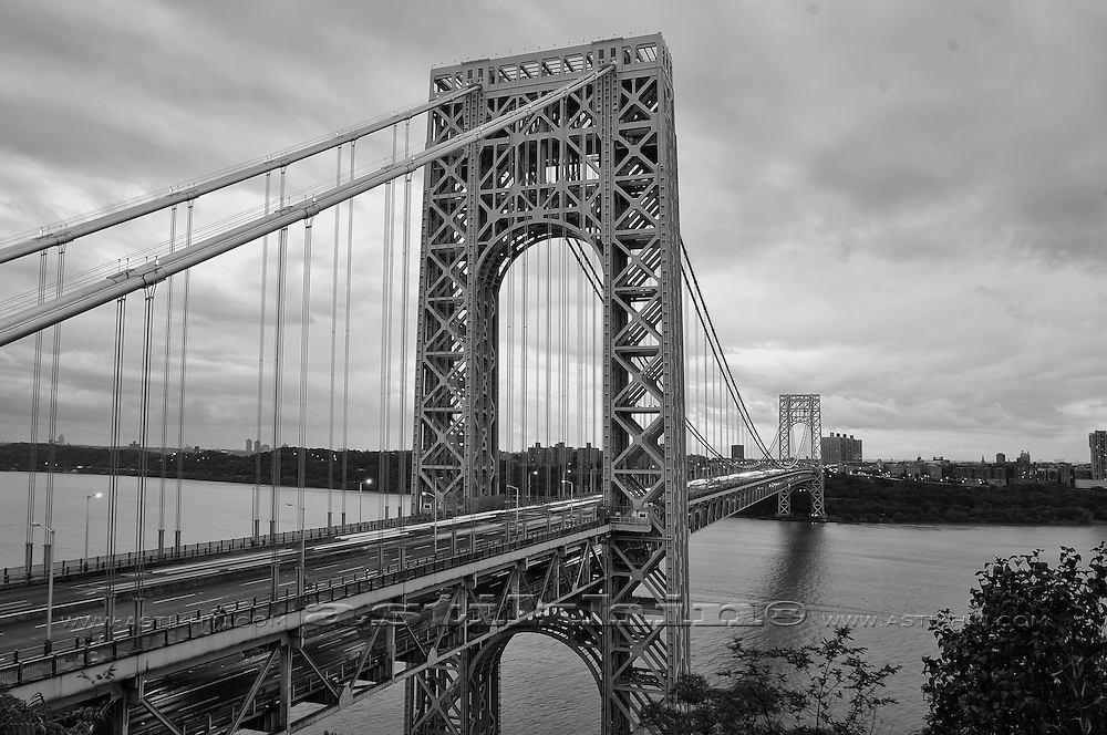 George Washington Bridge. New York City, USA.