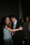 DAISY DONOVAN AND ROLAND MOURET, Art Plus Music party. Fundraiser for the Whitechapel. 30 March 2006. ONE TIME USE ONLY - DO NOT ARCHIVE  © Copyright Photograph by Dafydd Jones 66 Stockwell Park Rd. London SW9 0DA Tel 020 7733 0108 www.dafjones.com