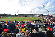 Crowds building at Edgbaston Stadium before the Vitality T20 Finals Day Semi Final 2018 match between Worcestershire Rapids and Lancashire Lightning at Edgbaston, Birmingham, United Kingdom on 15 September 2018.