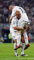 England vs Kazakhstan World Cup Qualifier Group 6 11/10/08<br /> Photo Nicky Hayes/Fotosports International<br /> Wayne Rooney goal celebration.