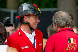 AHLMANN Christian (GER)<br /> Rotterdam - Europameisterschaft Dressur, Springen und Para-Dressur 2019<br /> Impressionen am Rande<br /> Longines FEI Jumping European Championship part 2 - team 2nd and final round<br /> Finale Teamwertung 2. Runde<br /> 23. August 2019<br /> © www.sportfotos-lafrentz.de/Sharon Vandeput