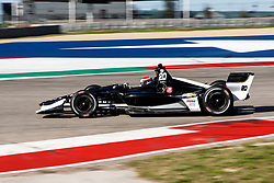 February 12, 2019 - U.S. - AUSTIN, TX - FEBRUARY 12: Ed Jones (20) in a Chevrolet powered Dallara IR-12 at turn 12 during the IndyCar Spring Training held February 11-13, 2019 at Circuit of the Americas in Austin, TX. (Photo by Allan Hamilton/Icon Sportswire) (Credit Image: © Allan Hamilton/Icon SMI via ZUMA Press)