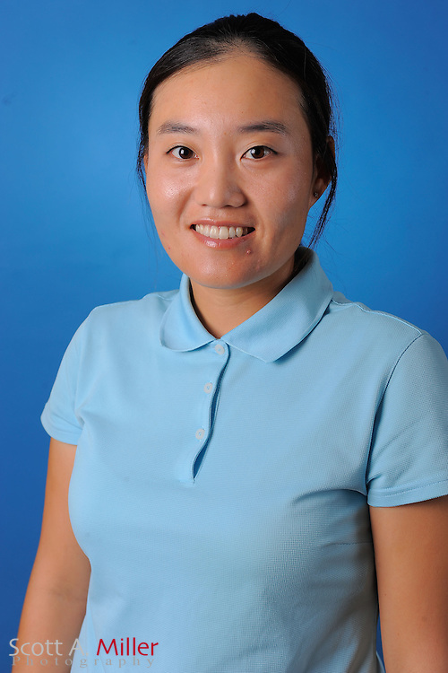 Saehee Son during a portrait session prior to the second stage of LPGA Qualifying School at the Plantation Golf and Country Club on Sept. 25, 2011 in Venice, FL...©2011 Scott A. Miller
