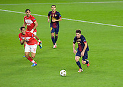 Lionel Messi in action during the Group G UEFA Champions League match between FC Barcelona and Spartak Moscow at the Nou Camp, Barcelona, Spain 19th September 2012. Credit - Eoin Mundow/Cleva Media