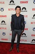 Actor Graham Phillips poses on the red carpet at the premiere of the movie Staten Island Summer at Sunshine Cinema, Tuesday, July 21, 2015, in New York.  The new comedy debuts on Netflix on July 30, 2015 and is available for Digital download. (Photo by Diane Bondareff/Invision for Paramount Pictures/AP Images)