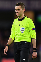 Football - 2019 / 2020 UEFA Champions League - Round of Sixteen, First Leg: Chelsea vs. Bayern Munich<br /> <br /> Referee Clement Turpin, at Stamford Bridge.<br /> <br /> COLORSPORT/ASHLEY WESTERN