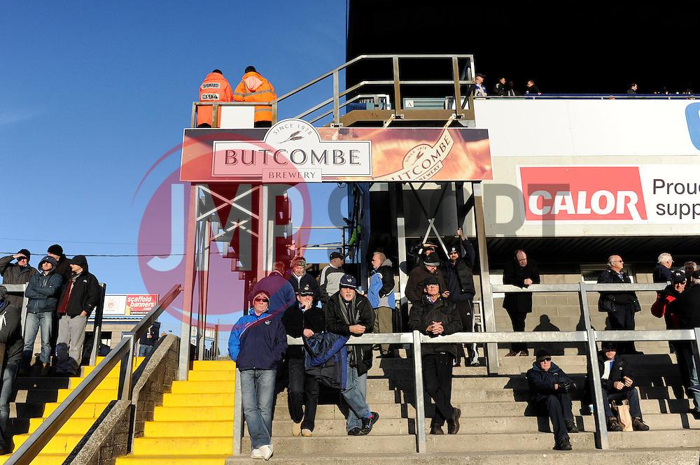Advertising Board - Photo mandatory by-line: Dougie Allward/JMP - Tel: Mobile: 07966 386802 30/11/2013 - SPORT - Football - Bristol - Memorial Stadium - Bristol Rovers v AFC Wimbledon - Sky Bet League Two