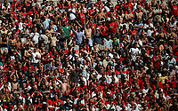 Photo: Rich Eaton.<br /> <br /> Manchester United v Chelsea. FA Community Shield. 05/08/2007. Fans at the Man United end watch the game in the sunny conditions.